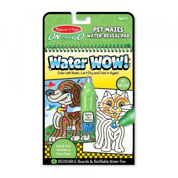 Rajzolás vízzel - Útvesztő