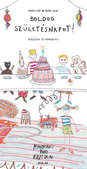 Boldog születésnapot! - Óriás színező - Mindenki tud rajzolni