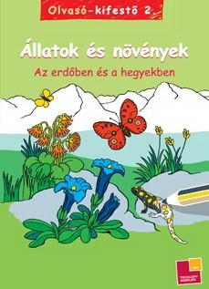 Olvasó-kifestő 2. - Állatok és növények - Az erdőben és hegyekben