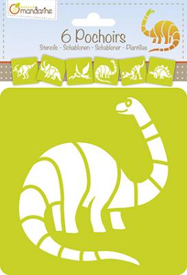 Sablonkészlet - Dinoszauruszok