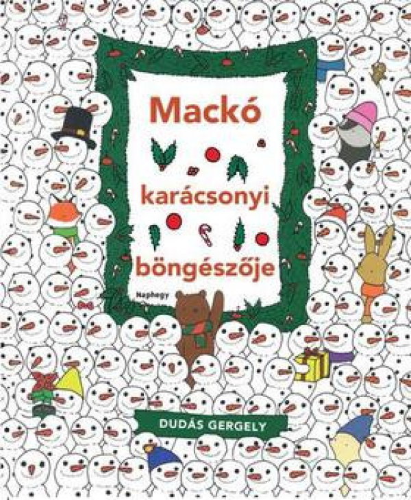 Mackó karácsonyi böngészője