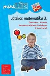Játékos matematika 3. - Összeadás/kivonás kompetencia fejlesztő feladatok LDI220 - miniLÜK