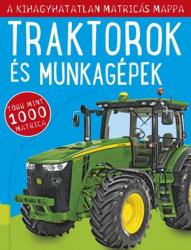 Traktorok és munkagépek - matricás foglalkoztatókönyv