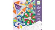 Mandala színező – Rosette