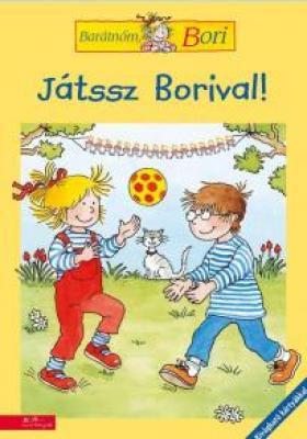 Játssz Borival! - Barátnőm, Bori foglalkoztatófüzetek
