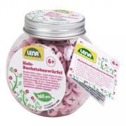Fa ABC gyöngyök - Rózsaszín