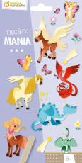 Satírozó matrica - Fantasztikus állatok