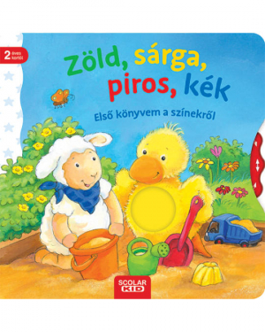 Zöld, sárga, piros, kék - Első könyvem a színekről
