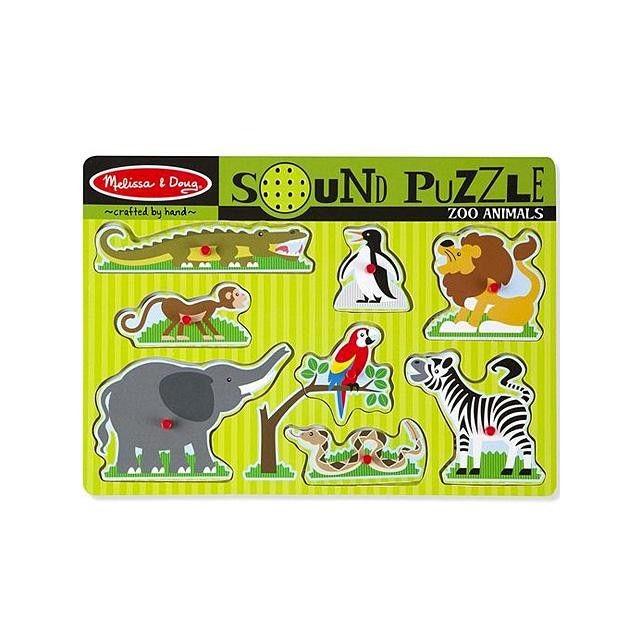 Hangos puzzle - Állatkert