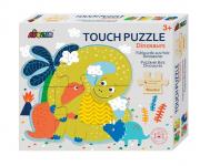 Tapintós puzzle - Dinók